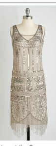 1920's flapper sequin dress